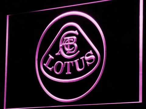 Image of Lotus Authorized LED Neon Sign - Purple - SafeSpecial