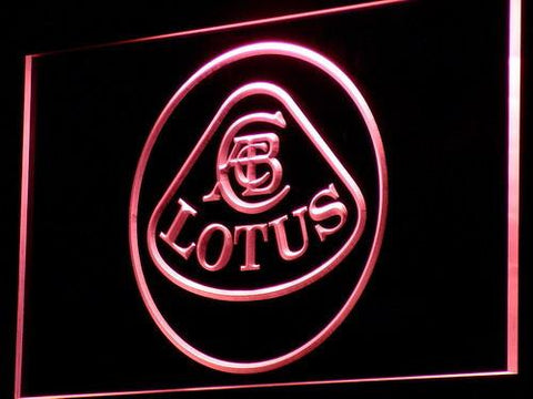Image of Lotus Authorized LED Neon Sign - Red - SafeSpecial