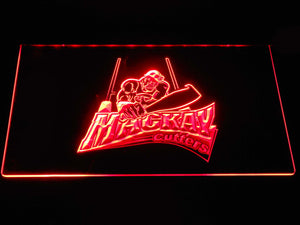 Mackay Cutters LED Neon Sign - Red - SafeSpecial