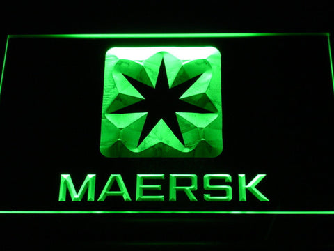 Image of Maersk LED Neon Sign - Green - SafeSpecial