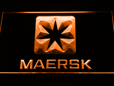 Maersk LED Neon Sign - Orange - SafeSpecial