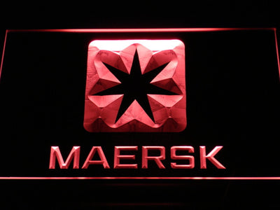 Maersk LED Neon Sign - Red - SafeSpecial
