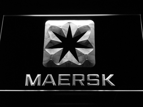 Image of Maersk LED Neon Sign - White - SafeSpecial
