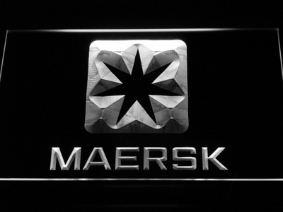 Maersk LED Neon Sign - White - SafeSpecial