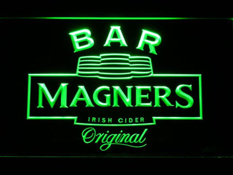 Magners Bar LED Neon Sign - Green - SafeSpecial