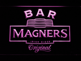 Magners Bar LED Neon Sign - Purple - SafeSpecial
