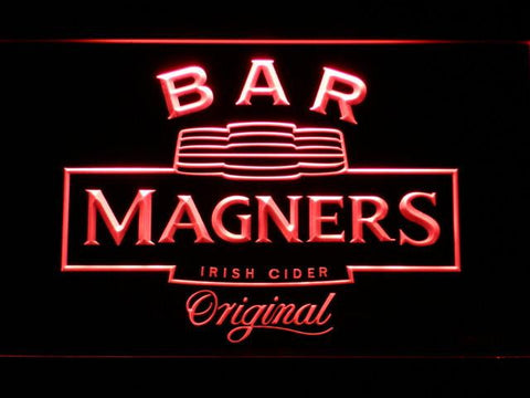Magners Bar LED Neon Sign - Red - SafeSpecial