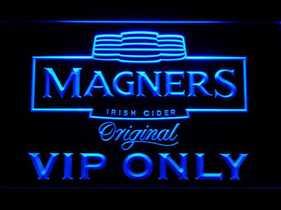 Magners VIP Only LED Neon Sign - Blue - SafeSpecial