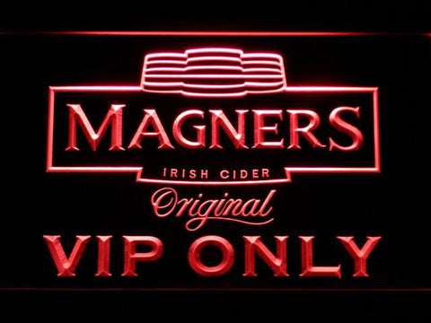 Magners VIP Only LED Neon Sign - Red - SafeSpecial