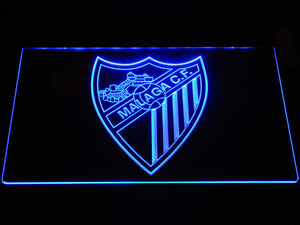 Malaga CF LED Neon Sign - Blue - SafeSpecial