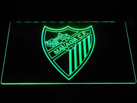 Image of Malaga CF LED Neon Sign - Green - SafeSpecial