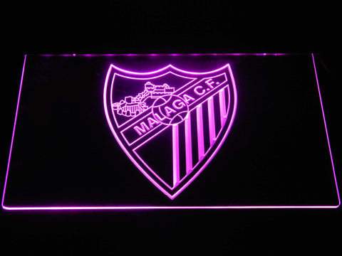 Image of Malaga CF LED Neon Sign - Purple - SafeSpecial