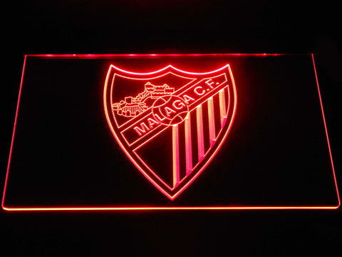 Image of Malaga CF LED Neon Sign - Red - SafeSpecial