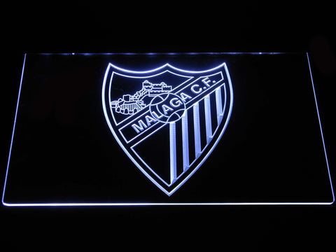 Image of Malaga CF LED Neon Sign - White - SafeSpecial