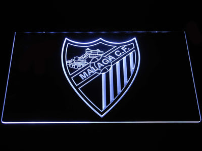 Malaga CF LED Neon Sign - White - SafeSpecial