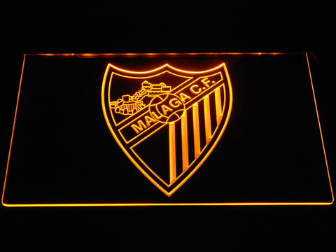 Image of Malaga CF LED Neon Sign - Yellow - SafeSpecial