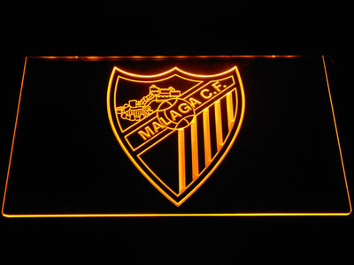 Malaga CF LED Neon Sign - Yellow - SafeSpecial