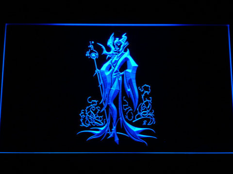 Image of Maleficent LED Neon Sign - Blue - SafeSpecial