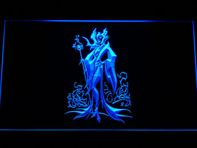 Maleficent LED Neon Sign - Blue - SafeSpecial