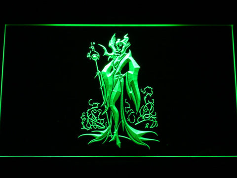 Image of Maleficent LED Neon Sign - Green - SafeSpecial