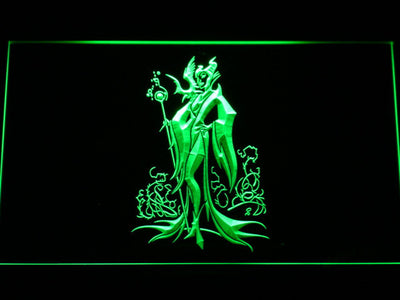 Maleficent LED Neon Sign - Green - SafeSpecial