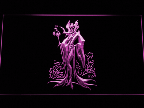 Image of Maleficent LED Neon Sign - Purple - SafeSpecial