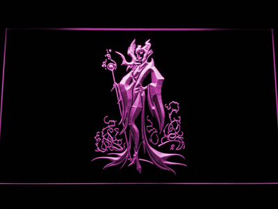 Maleficent LED Neon Sign - Purple - SafeSpecial