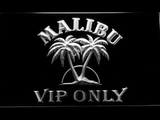 Malibu VIP Only LED Neon Sign - White - SafeSpecial