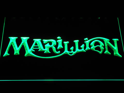 Marillion LED Neon Sign - Green - SafeSpecial