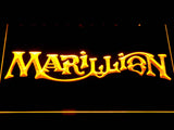 Marillion LED Neon Sign - Yellow - SafeSpecial