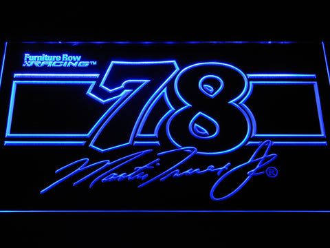 Image of Martin Truex Jr. 78 LED Neon Sign - Blue - SafeSpecial