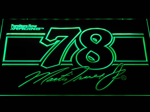Image of Martin Truex Jr. 78 LED Neon Sign - Green - SafeSpecial