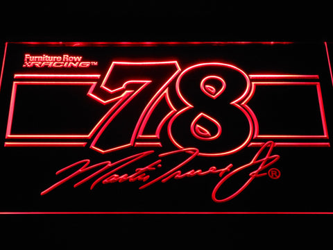 Image of Martin Truex Jr. 78 LED Neon Sign - Red - SafeSpecial