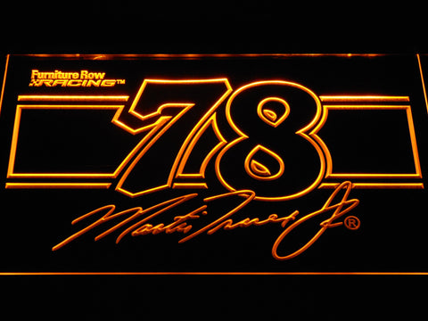 Image of Martin Truex Jr. 78 LED Neon Sign - Yellow - SafeSpecial
