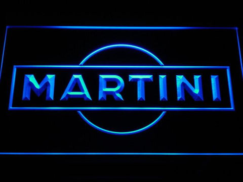 Image of Martini LED Neon Sign - Blue - SafeSpecial