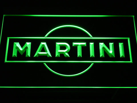 Image of Martini LED Neon Sign - Green - SafeSpecial