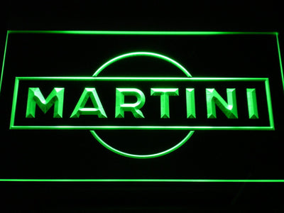 Martini LED Neon Sign - Green - SafeSpecial