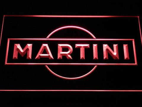 Image of Martini LED Neon Sign - Red - SafeSpecial