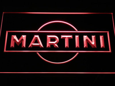 Martini LED Neon Sign - Red - SafeSpecial