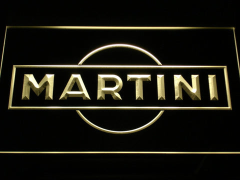 Image of Martini LED Neon Sign - Yellow - SafeSpecial