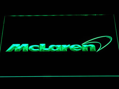 McLaren LED Neon Sign - Green - SafeSpecial