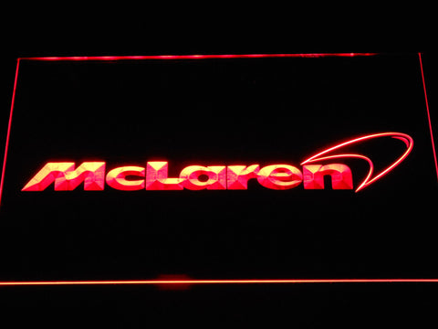 Image of McLaren LED Neon Sign - Red - SafeSpecial