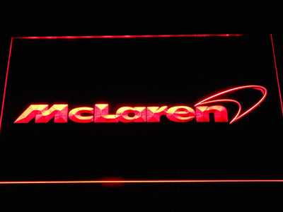 McLaren LED Neon Sign - Red - SafeSpecial