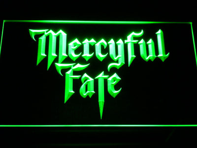 Mercyful Fate LED Neon Sign - Green - SafeSpecial
