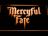 Mercyful Fate LED Neon Sign - Orange - SafeSpecial