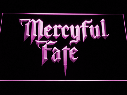 Mercyful Fate LED Neon Sign - Purple - SafeSpecial