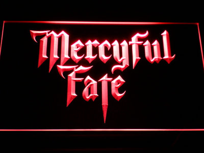 Mercyful Fate LED Neon Sign - Red - SafeSpecial