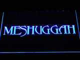 Meshuggah LED Neon Sign - Blue - SafeSpecial