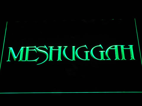 Meshuggah LED Neon Sign - Green - SafeSpecial
