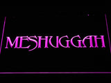Meshuggah LED Neon Sign - Purple - SafeSpecial